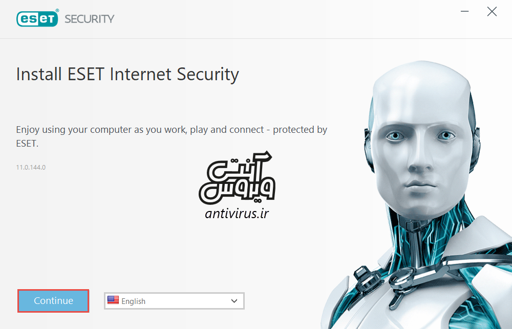 install ESET software